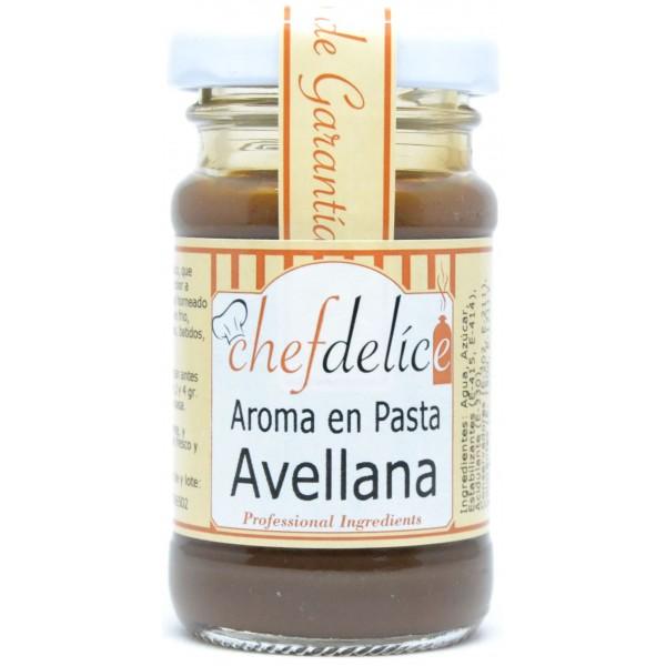 Aroma de avellana en pasta