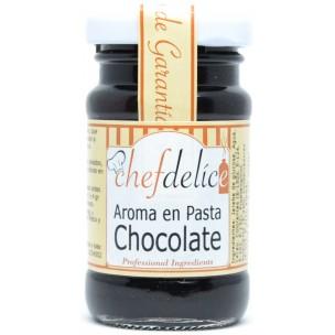 Aroma de chocolate en pasta