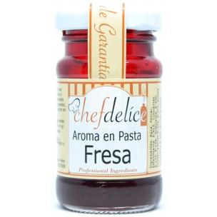 Aroma de fresa en pasta
