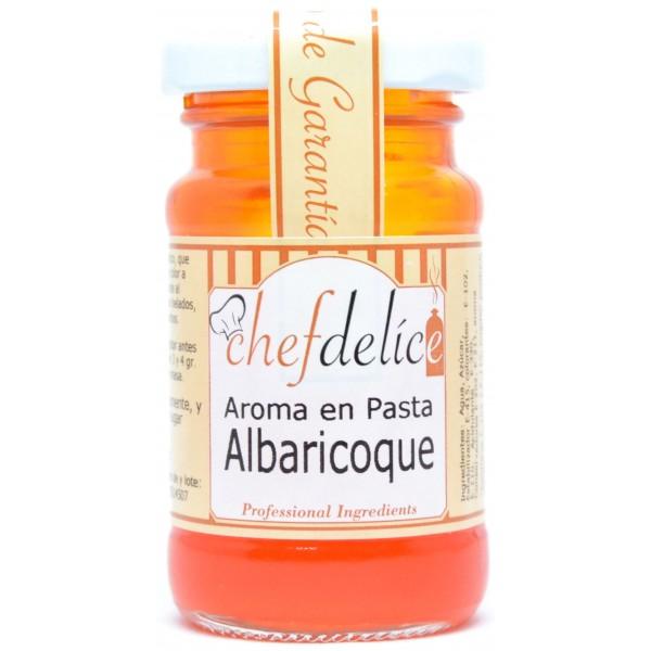 Aroma de albaricoque en pasta